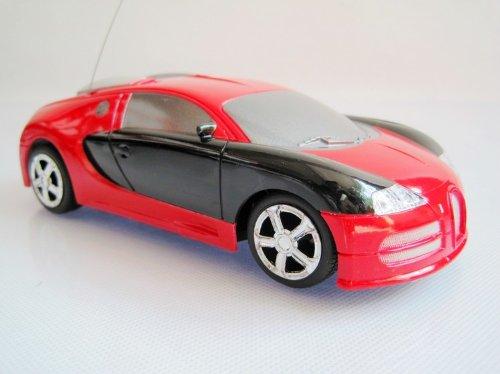 1:24 Bugatti Remote Control Car/car Model with Headlight Toy-red