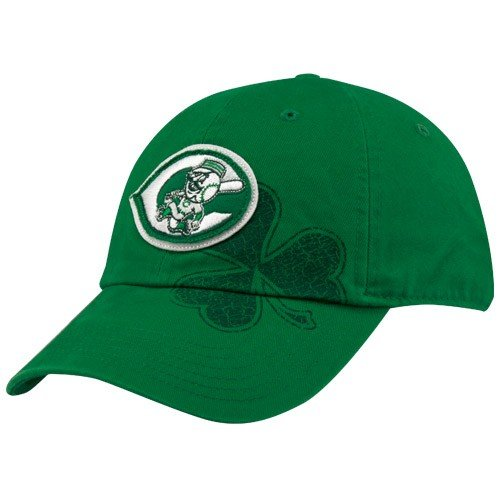 f8ed0979d8577 Nike Cincinnati Reds Kelly Green St. Patrick's Day Campus Adjustable Hat