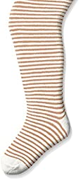 Country Kids Baby Girls\' Mini Stripe Tights, Ivory, 12 24 Months