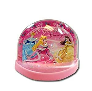 Disney Princess Lenticular Plastic Snowglobe from Disney