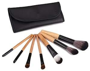 Glow 7 Makeup Brushes Set in Black Case