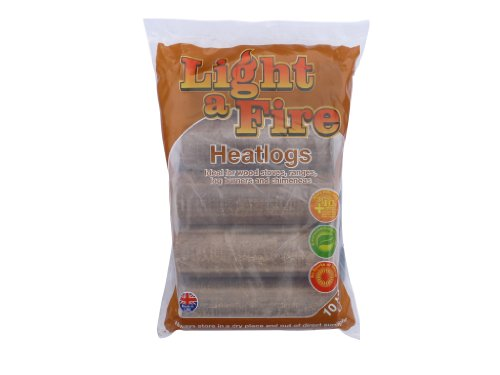 10kg Light a Fire Heatlogs x 108 (full pallet)