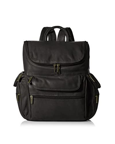 David King Men's Computer Back Pack, Black