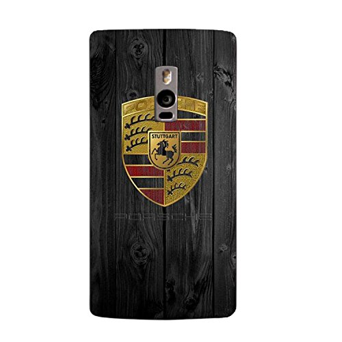Clapcart Wooden Porche Printed Mobile Back Cover for One Plus Two -multicolor