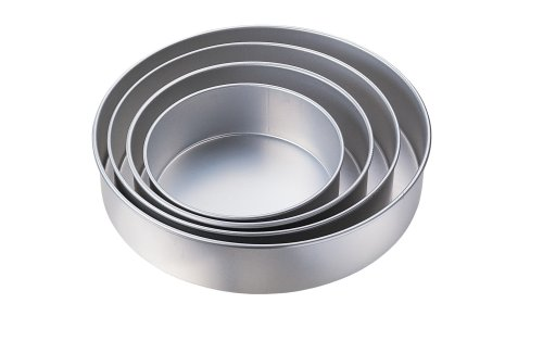 Wilton Performance Pans Round Pan Set, 3 Inches Deep