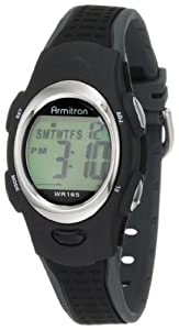 Armitron Sport Unisex 456967BLK Chronograph Black Digital Watch
