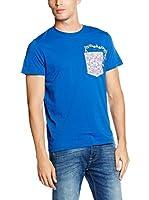 MELTIN'POT Camiseta Manga Corta Azul M