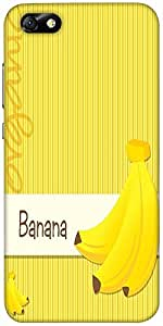Snoogg Bright Organic Banana Card In Vector Format Designer Protective Back C...