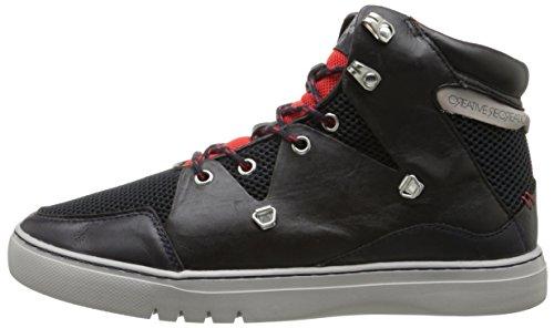 Creative Recreation Men's Spero Fashion Sneaker, Navy Black/Red Sport, 9 M US