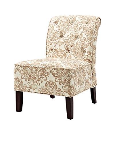 Westport Home Westport Home Lorna Accent Chair, Opal, Ivory