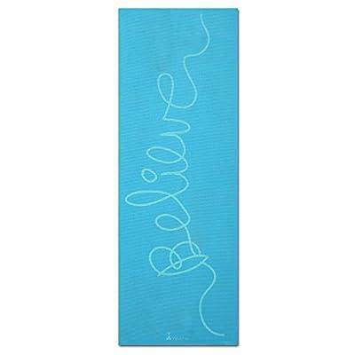 "RatMat PRINTED YOGA MAT: Eco-friendly, nontoxic foam construction. Extra-thick and durable. 24"" x 68"" x 1/4"""