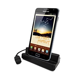 EMARTBUY SAMSUNG GALAXY NOTE N7000 COMPATIBLE DESKTOP DOCKING STATION CRADLE CHARGER
