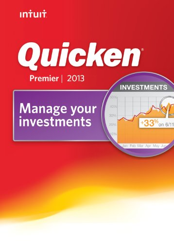 Quicken Premier 2013 [Download] Picture
