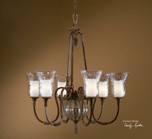Cheap Uttermost Galeana 6 Light Chandelier