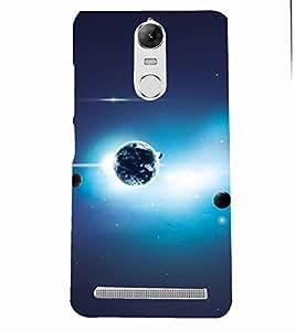 PRINTSOPPII GLAXY Back Case Cover for Lenovo K5 NOTE::Lenovo Vibe K5 Note Pro