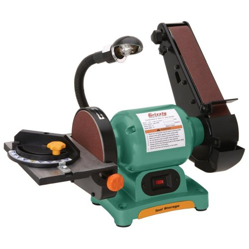 Grizzly H7761 Combo 2″ Belt Sander 6″ Disc Sander