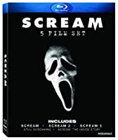 Scream Five-film Set Scream 1-3 Two Documentaries Blu-ray by Lionsgate Miramax