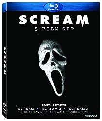 Scream Five-Film Set (Scream 1-3 + Two Documentaries) [Blu-ray]