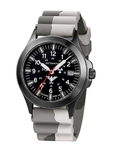 KHS Tactical watches Negro hombre Titan Automatic KHS. BPTA.DC5 IPB Diver Camo Titan. Colour