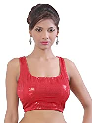 Abida Red Colour Party waer designer blouse