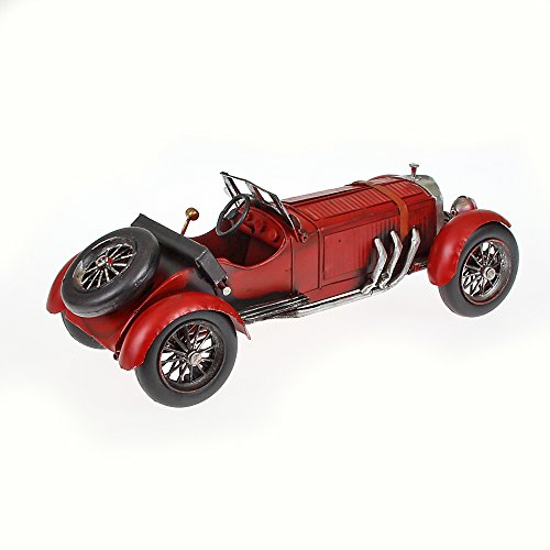 Metal Model Classic Car Around the Year of 25Red x Height Approx. 33cm x 13cm x 10cm