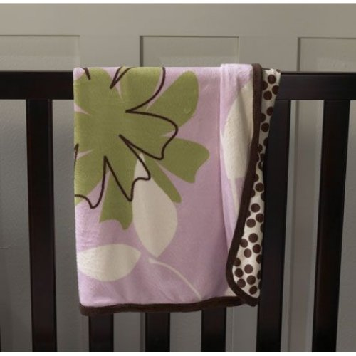 Pink Bloom Icon and Pattern Blanket - 1