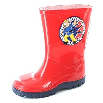 Fireman Sam Action Childrens Welly