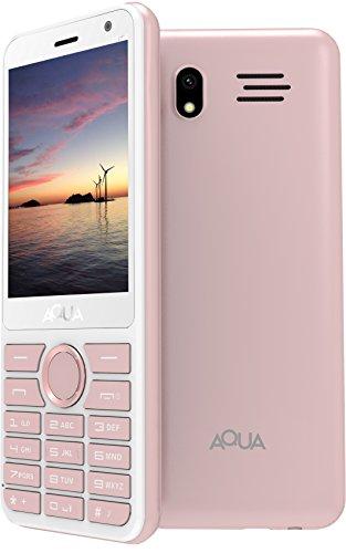 Aqua Mist - 2100 mAh Battery - Dual SIM Basic Mobile Phone - Rose Gold