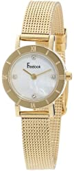 Freelook Women's HA3031MG-9 Gold-Plated Watch with Mother-of-Pearl Dial