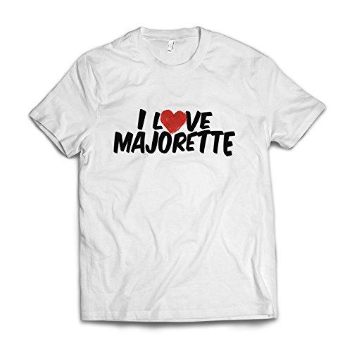 Neonblond I Love Majorette American Apparel T-Shirt Medium