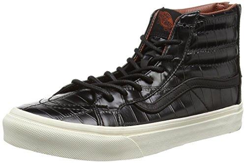 Vans, Sneaker donna, Nero (Black (Croc Leather - Black)), 37