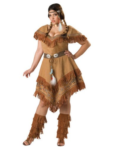 Indian Maiden 3Xl Adult Womens Costume