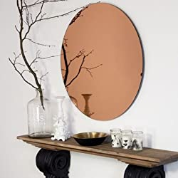 King International Small Copper Mirror 20 cm
