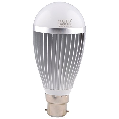 Euro Lights 7W White LED Bulbs (Pack Of 3)