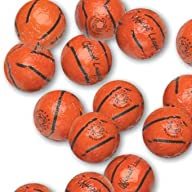 Chocolate Foil Basketballs – 1 lb
