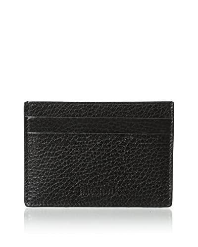 a.testoni Men's Karibou Calf Credit Card Case