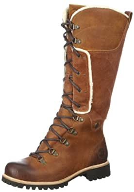 Timberland Women's Earthkeepers® Alpine Tall Waterproof Boot,Medium Brown Leather/Suede,US 5.5 W