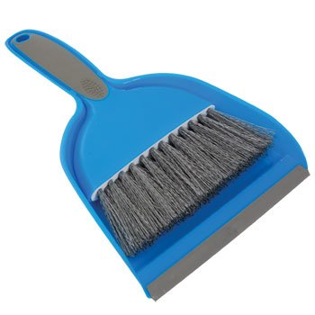 One Small Hand Broom with Snap-on Dust Pan, Colors may vary (Small Bristle Broom compare prices)