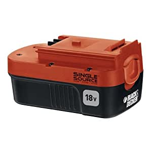 Black & Decker HPB18-OPE 18-Volt Slide Pack Battery For 18-Volt Outdoor Cordless Power Tools