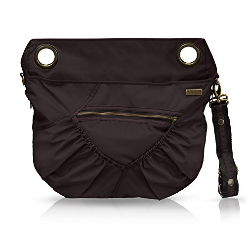 Baby Cargo Georgi Diaper Bag, Moonless Night/Teal