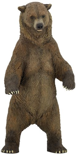 Papo Grizzly Bear Figure