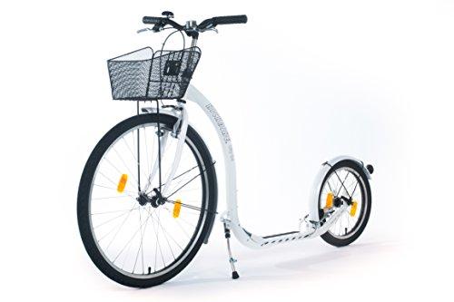 kickbike city g4 tretroller f r erwachsene scooter cityroller finnscoot perlwei. Black Bedroom Furniture Sets. Home Design Ideas