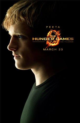 The Hunger Games (2012) Peeta Mellark Josh Hutcherson Movie Poster Reprint 13