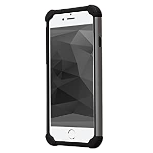 iphone 6 case,jo-mall-box[High Quality][shockproof][Heavy Duty]Apple iPhone 6 case(4.7) Shock Absorbing Dual Layer,Super Protection cover case for Apple iPhone 6(4.7)-Gray