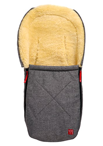 kaiser-emma-cuddly-bag-with-sheepskin-for-carrycots-and-car-seats-anthracite-melange-6534170