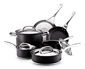 Circulon Infinite Hard Anodized Nonstick 10-Piece Cookware Set