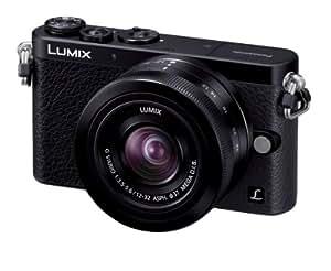 Panasonic デジタル一眼カメラ ルミックス GM1 レンズキット 標準ズームレンズ付属 ブラック DMC-GM1K-K