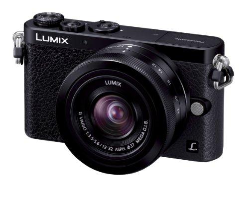 Panasonic-digital-single-lens-camera-Lumix-GM1-lens-kit-standard-zoom-lens-comes-with-black-DMC-GM1K-K-International-Version-No-Warranty