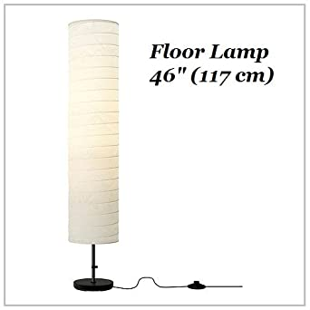 "IKEA Floor Lamp 46"" Contemporary Style Modern Soft Lighting HOLMO"