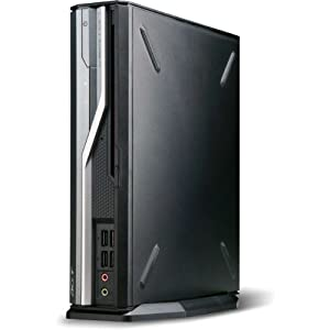 Acer Veriton L6610G Ultra Small Form factor PC (Intel Core i5 2400S 2.5GHz, 4GB RAM, 500GB HDD, LAN, WLAN, Windows 7 Professional 32 Bit Load)